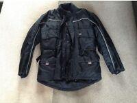 Mens motorcycle jacket size medium