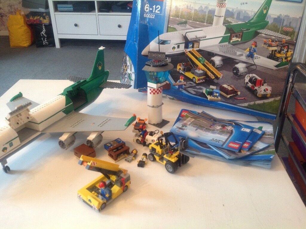 Large Lego Cargo Plane Set City Box Instructions In Chatham