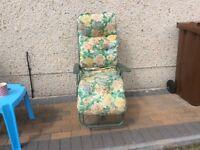 Cushion garden chair
