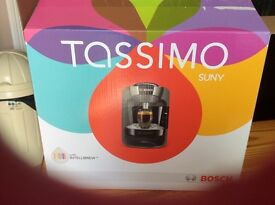 Bosh tassimo sunny drinks coffee machine new boxed like new