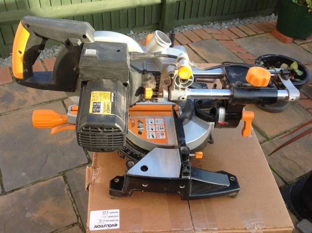 Evolution Multipurpose Sliding Mitre Saw