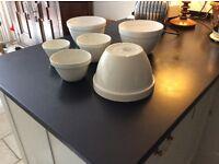 set of six pudding bowls