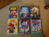 "Childrens DVD collection including ""Frozen"""