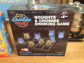 Noughts and crosses shot game