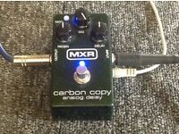 MXR Carbon copy analog delay pedal with modulation VGC