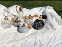 Antique Perfume Atomisers.