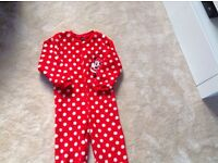 Minnie Mouse onsie age 6 to 7