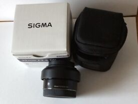 Sigma Art Lens/Sony E mount
