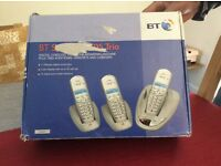BT Synergy 3505 Trio Cordless Telephone