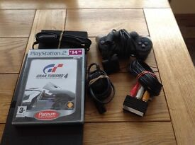 Play Station 2 very little use complete with Gran Turismo 4