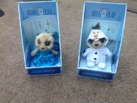FROZEN limited edition meerkat toys