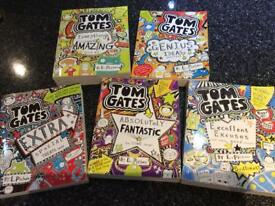 5 Tom Gates children's books