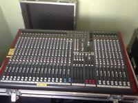 Allen & Heath ZED 428 Mixing Desk - Flight Cased