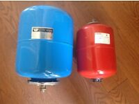2 Expansion vessels 1x CH and 1x Hot Water