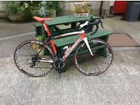 Holds worth firenze full carbon road bike