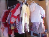 Baby girls clothes 0-3, 3-6 & 6-9 months
