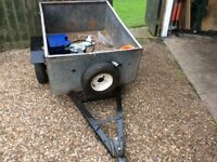 srong galvonised steel trailer