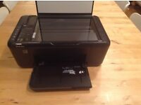 HP Desjet F4500 all in one printer and scanner with FREE colour ink cartridge!