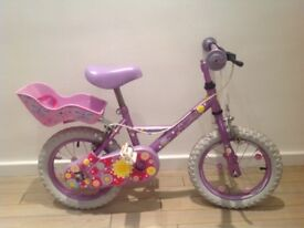 Apollo girls sweetpea bike (Halfords) - Great condition