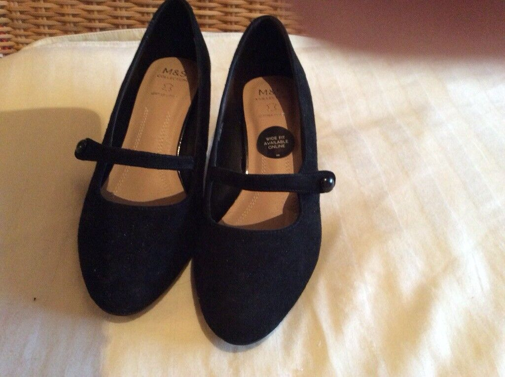 pretty cool sports shoes outlet on sale Black Shoes Marks and Spencer's kitten heel size 5 1/2 | in Guildford ...