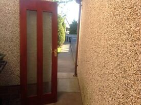 Mahogany Stained Interior Doors