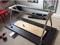 Vitra chrome desk/table legs and frame