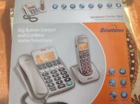 Binatone big button telephone