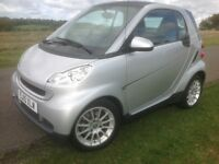 Smart Fortwo 1.0 Passion 2dr Auto 2010 (10 Reg) Price £3,250 £30 Tax Finance Arranged