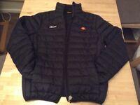 Ellesse black coat 38/40 medium black