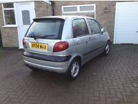 04 daewoo Martiz 1.0 silver low-insurance low miles 63000 5 doors £450