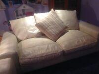 Leather sofas x 2 urgent sale needed