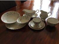 Tea set and dinner set