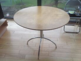Circular Dining Table - £10. Reason for sale is that it is surplus to requirements.