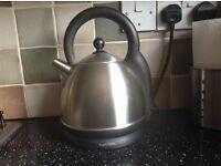 Russell Hobbs fast boil kettle in brushed steel