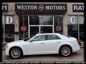 2011 Chrysler 300 LIMITED *LEATHER *HEATED SEATS *NAVI *REVERSE