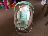 Ingenuity Automatic Bouncer RRP £64.99 for sale £20 ONO