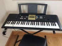Yamaha Electric Keyboard, Stand and Stool