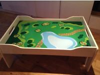 Children's Wooden Playtable **ideal for playing with Lego, or toys with small parts**