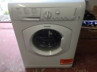 Hotpoint 6kg washing machine(used for less than a year)