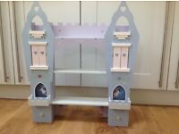Shelf unit - princess tower in purple