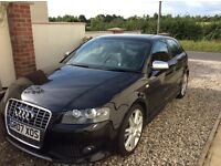 Audi s3 56000 miles metallic black