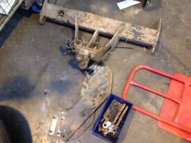 Ford transit tow bar newer model