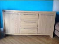 Next Opus Oak Sideboard