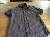 Next linen shirt medium
