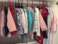 Girls Winter Clothing Bundle 35 items 12-18 Months