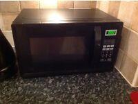 Microwave, black