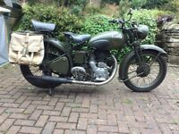 Royal Enfield WW2 dispatch riders motorcycle