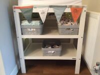 John Lewis White Baby Changing Table