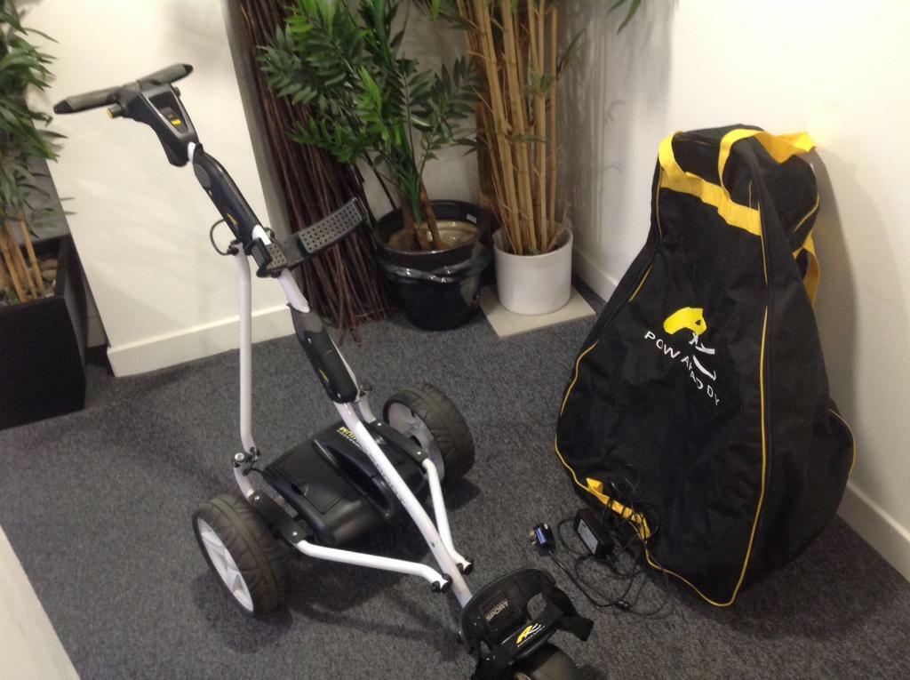 Powakaddy Sport lithium electric golf trolley  | in Leith, Edinburgh |  Gumtree