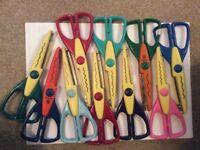 10 pairs craft scissors